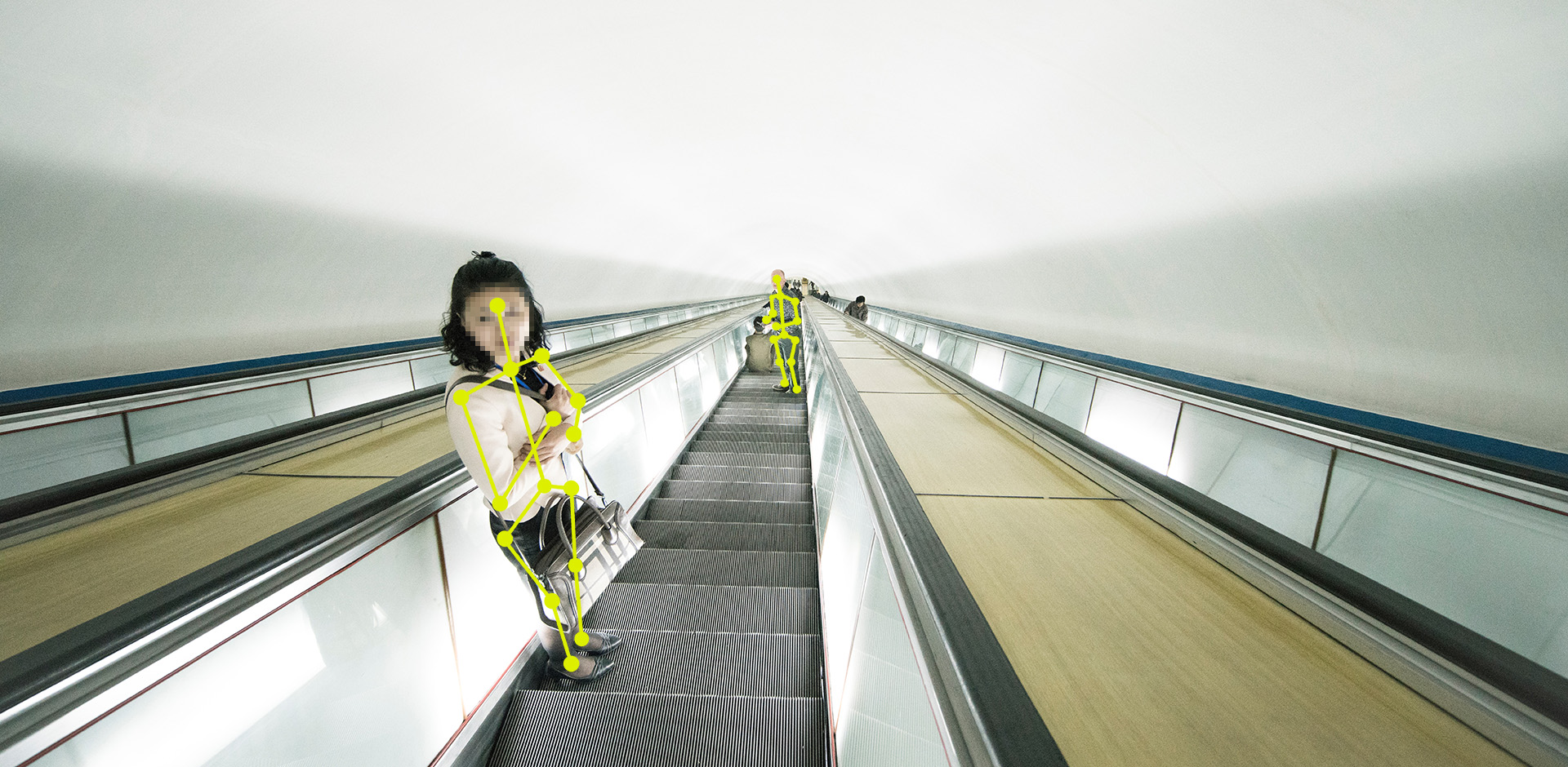 Photo of escalator